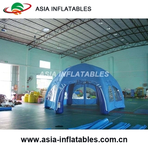 Giant Outdoor Inflatable Dome Tent , PVC Tarpaulin Inflatable Air Tent For Wedding Party