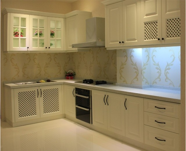 Mdf/mfc/plywood Particle Board Kitchen Cabinets With Kitchen  Pantry/sink/faucet - Buy Particle Board Carcass Kitchen Cabinet,Mdf White  Kitchen ...