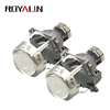 ROYALIN 3.0 inch Full Metal Headlight Retrofit Bi Xenon High Low Beam Projector Lens D1S D2S DS D4S For Bosch A4L