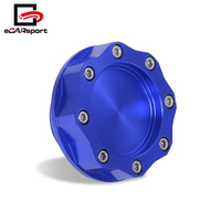 Universal Thread Octagon Billet Aluminum Engine Oil Cover Fuel Tank Cap For Toyota