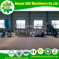SNC PP PE PET EPS Recycling equipment Factory direct supply plastic pallets for brick block making machine
