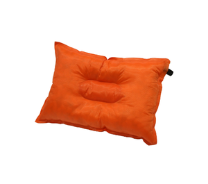 colorful travel use inflatable rectangle pillow