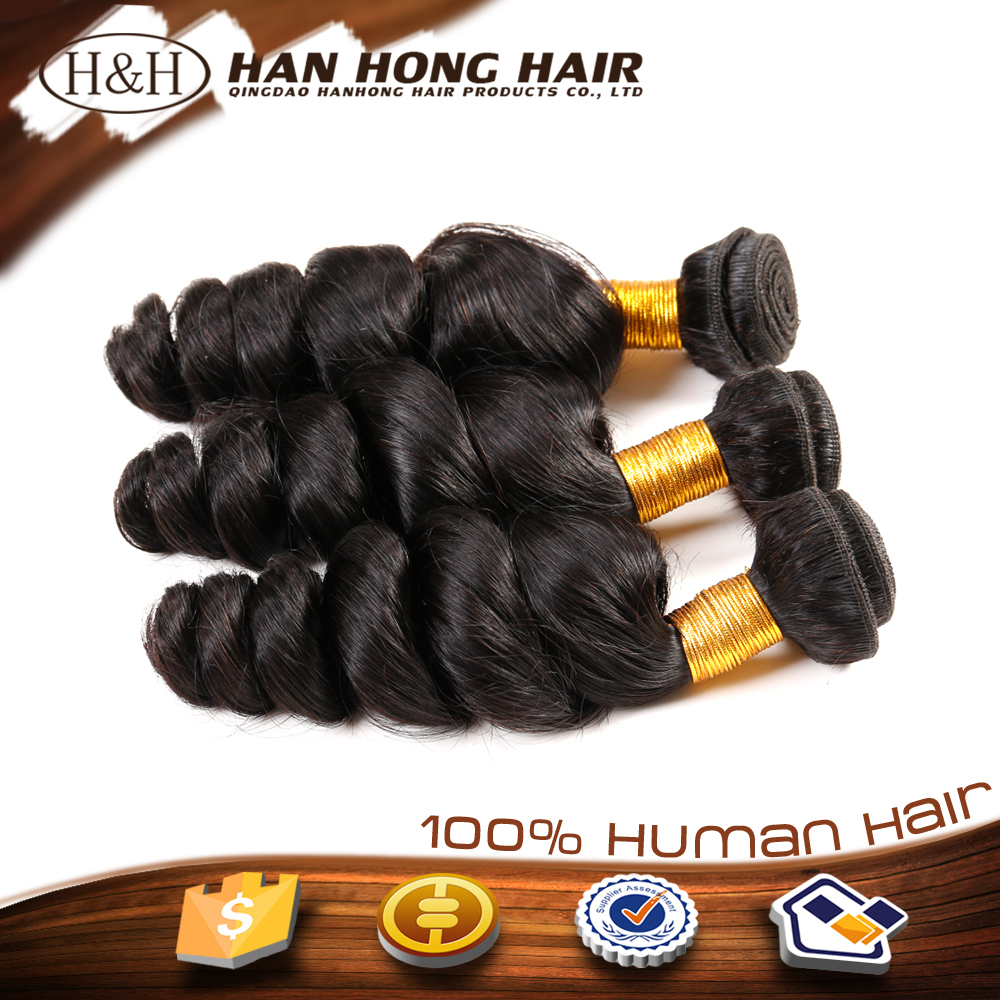 No Shedding No Tangle High Quality Remy Hair Full Cuticle Brazilian Curly Crochet Hair Extension