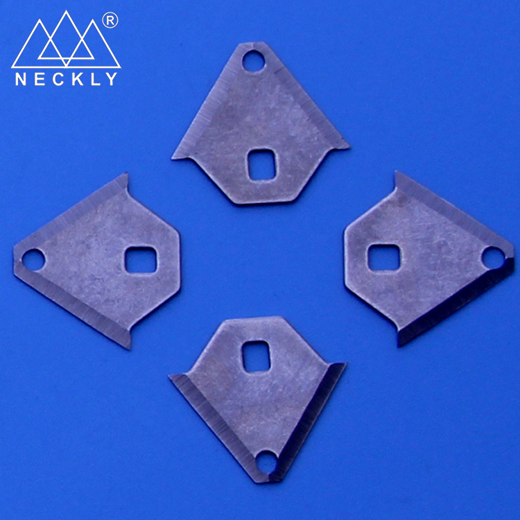 Web shopping Laser Making Special-shaped back blade