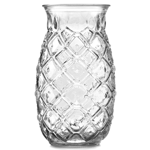 Unique Pineapple Tiki Cocktail Glasses 17.6oz / 500ml