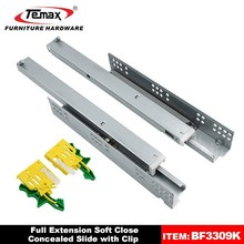 TEMAX BF3309K 3-fold concealed soft close drawer damper