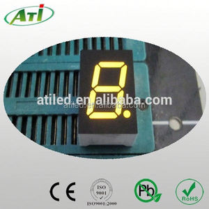 0.56 inch one digit blue color7 segment led numeric display,3 years factory guarantee time, whole sale prices.