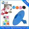 Customized Silicone Water Plug , rubber sink plug/cone rubber plug