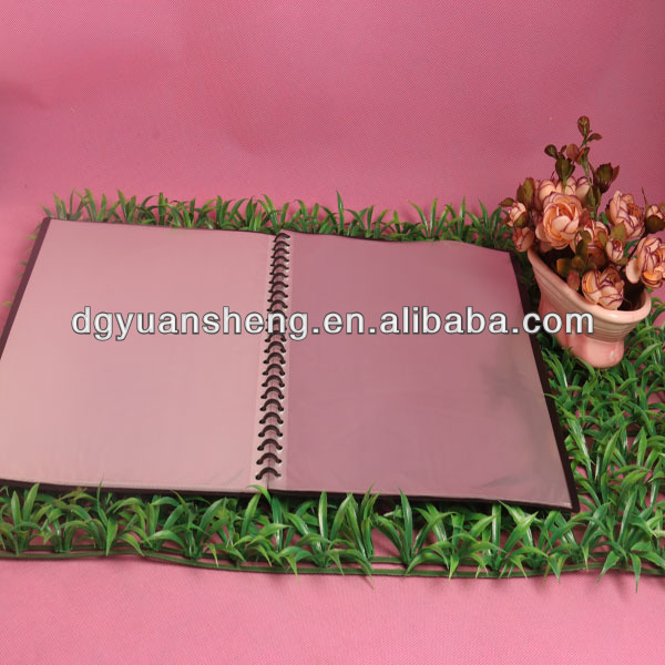 a4 plastic printing glossy clear book file folder parts