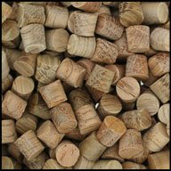 "WIDGETCO 1/4"" Oak Wood Plugs, Face Grain"