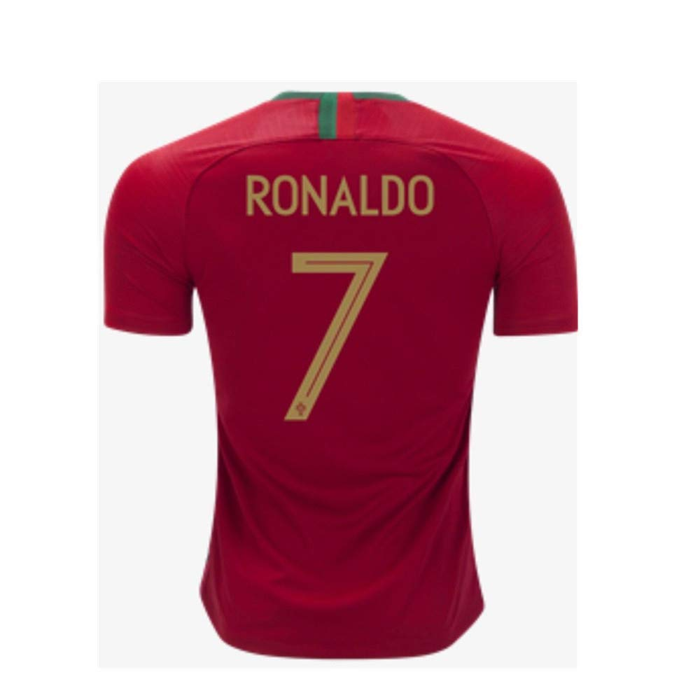 4f0510a4c ... Soccer Football Jersey Gift Set Youth Sizes. Get Quotations ·  Blackopstactical Brand 2018 World Cup Ronaldo  7 Portugal Home Jersey for  Kids Youth +