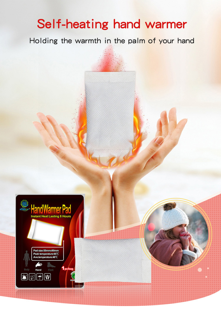 Kongdy disposable hand heating pad hand warmer patch