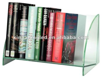 82672 Desktop Acrylic Bookshelf Book Display Stand Holder