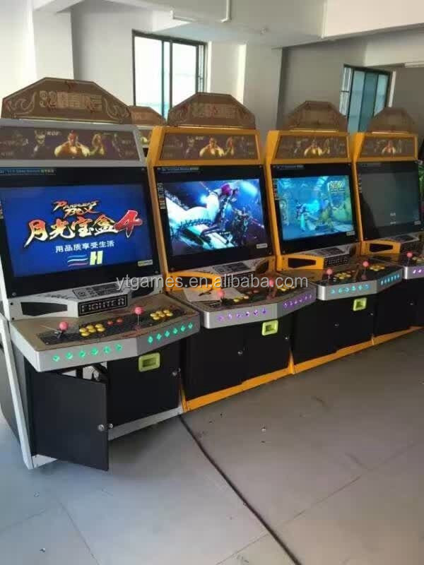 2017 Newest New Cabinet Tekken 6 Tekken 7 Street Fighter Arcade ...