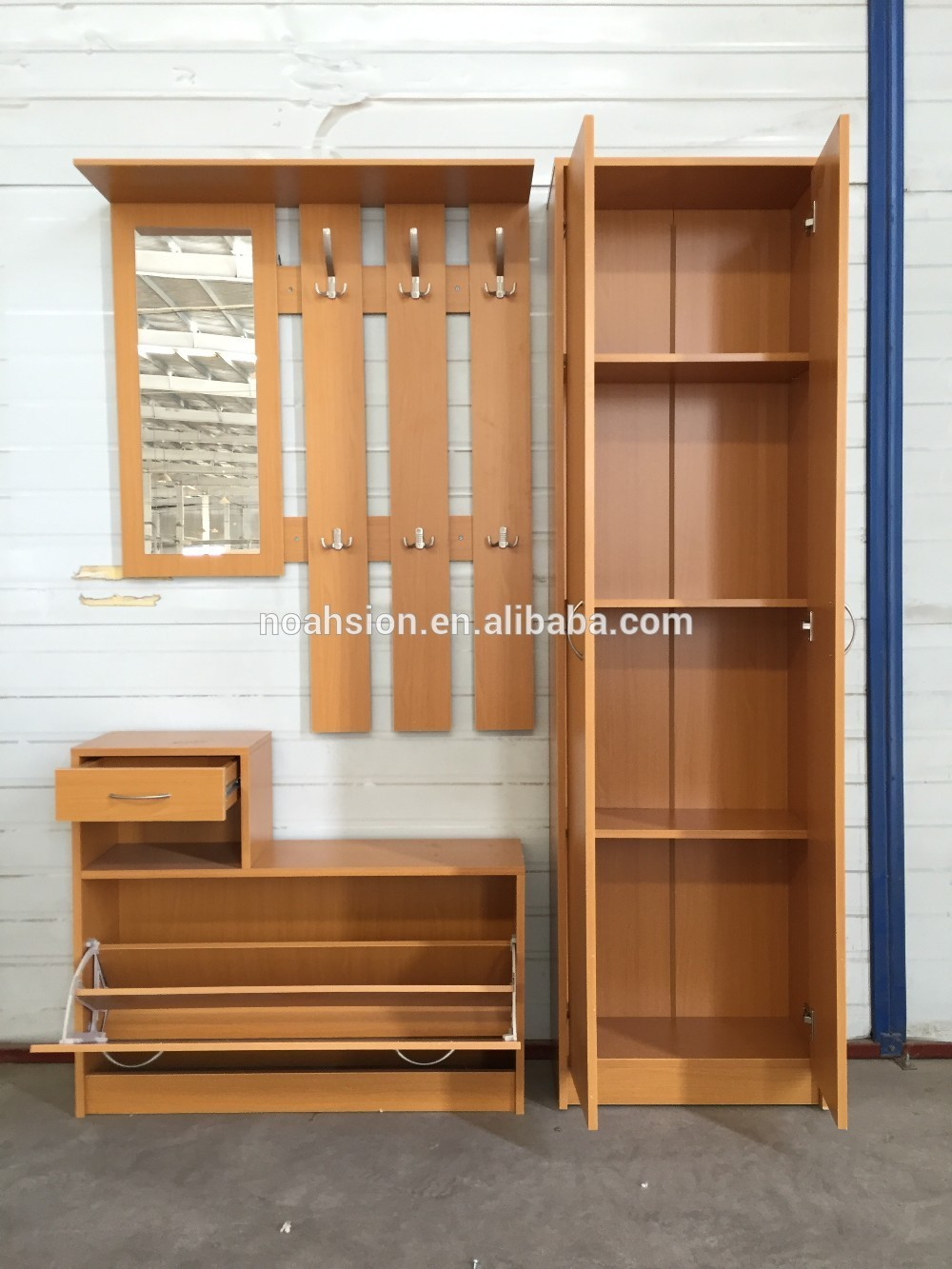 Modern bedroom wardrobe designs - Uk Market Hot Selling Bedroom Sets Modern Design Wooden
