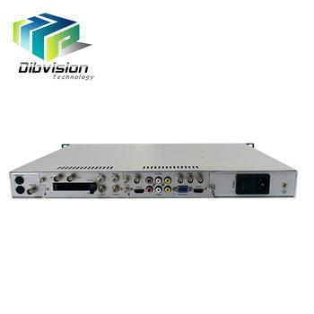 Best Satellite Tv Receiver Ip To Analog Audio Decoder With 2 Asi Loop Out -  Buy Best Satellite Tv Decoder,Ip Audio Decoder,Ip To Analog Decoder