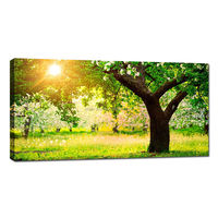 Green Tree Canvas Wall art/Waterproof Digital Printing Photo Canvas/Canvas Art Supplies