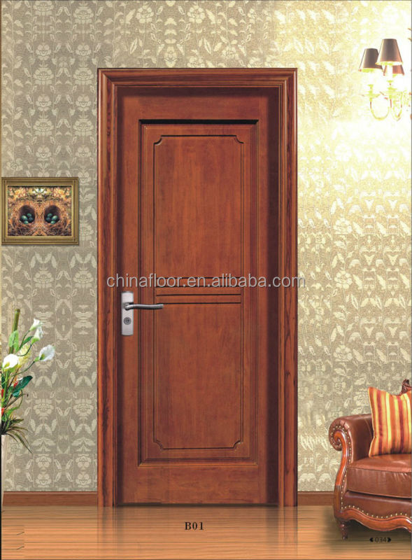 Wonderful china indoor use cheap solid wood doors for sale