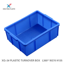 Plastic logistic injection turnover box HDPE industry 360*270*135mm