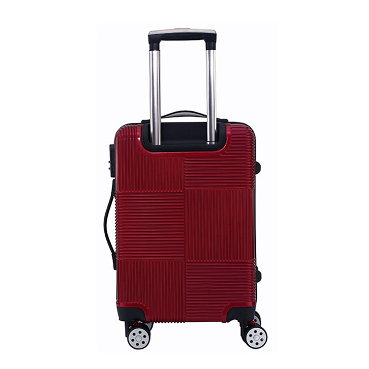 Unique airport travel design hard plastic trolley luggage bag luggage set 70f94facd
