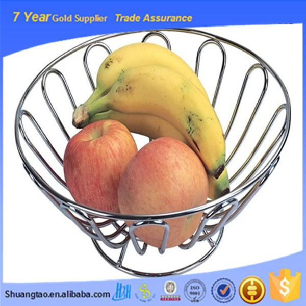 Various ISO gift fruit basket, fruit basket stand, empty fruit basket