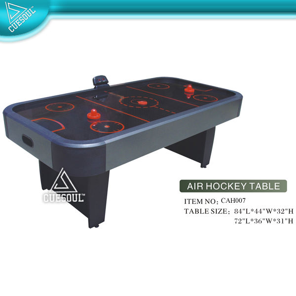 6ft Air Hockey Table with pusher and puck