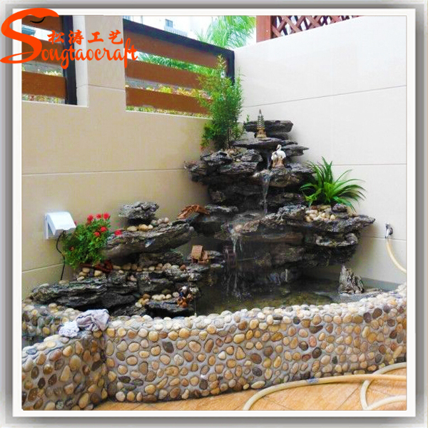 Garden Water Status Fountain Stone Wall Fountain Home Rock Waterfall Indoor