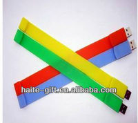 HT gift--Promotional wristband usb flash memory disk