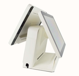 best selling Android pos two touch screen POS kits with cash register for sale
