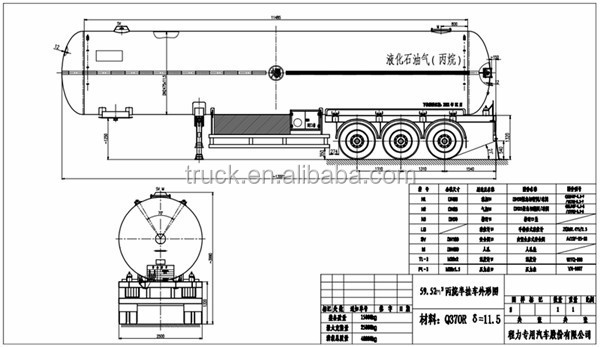 lpg trailer diagram