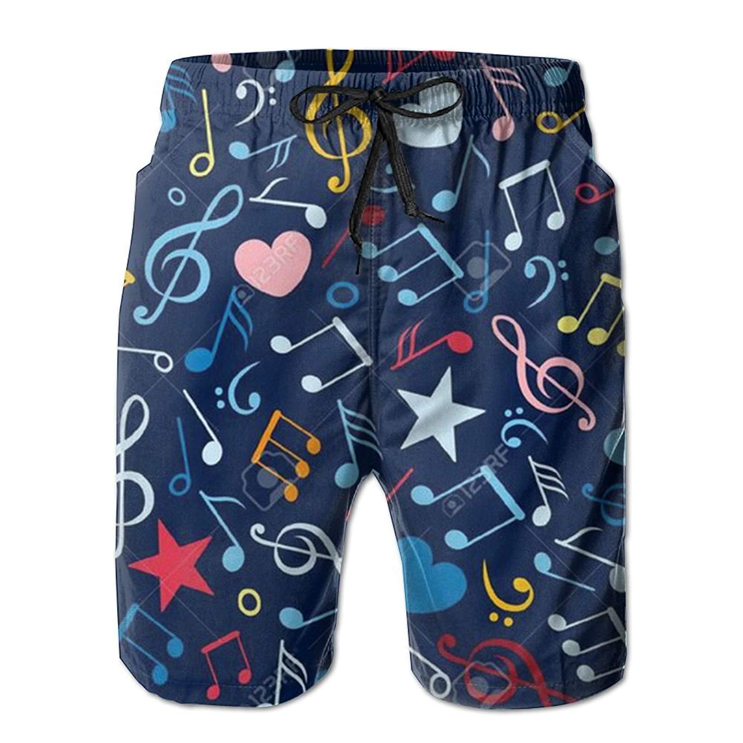 ICE CROSS Older Boys Swimsuit Beach Shorts YouthQuick Dry Board Shorts with Mesh Lining