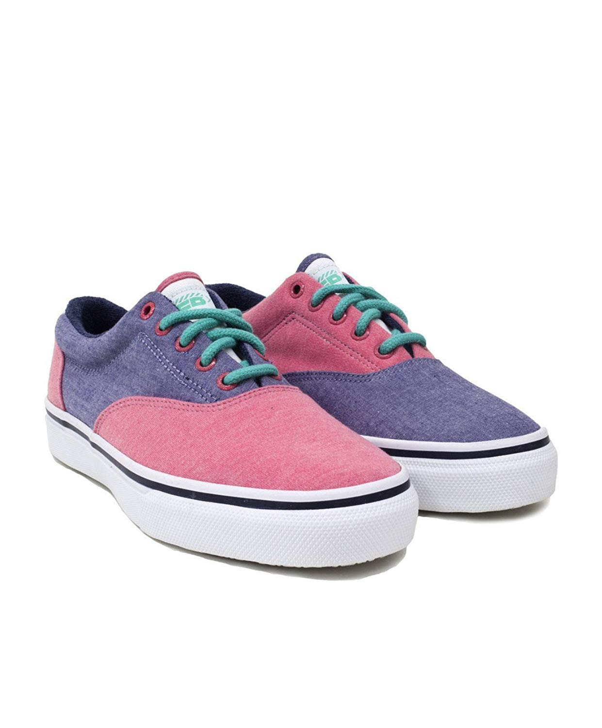 40f330f63a81 Get Quotations · Sperry Top-Sider Extra Butter Caddy Shack Striper Multi  Lace Up Fashion Sneakers