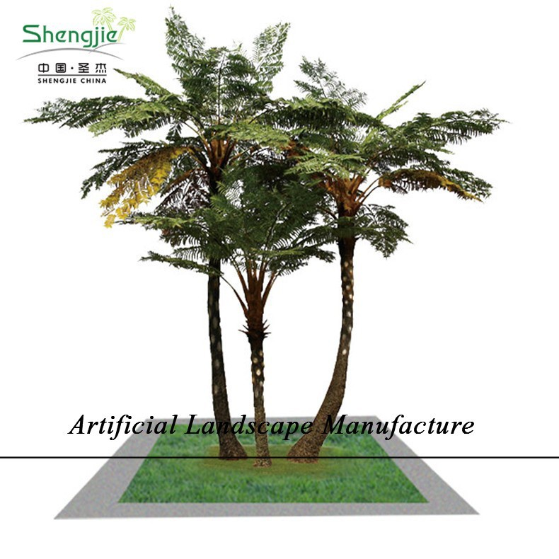 SJZJN 318 China Amazing Artificial Sala Tree Indoor & Outdoor Types of Ornamental Plants