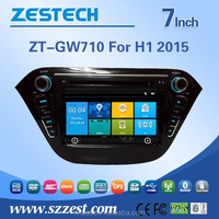 car dvd player back seat for GREAT WALL H1 2015 car dvd player multimedia with 3g wifi