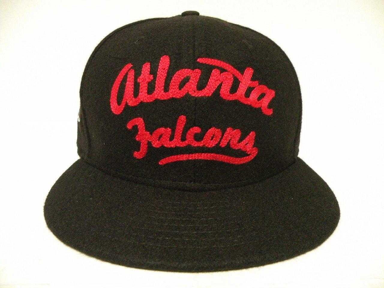 303518d9c40 Get Quotations · New Era NFL Atlanta Falcons Black StrapBack Cap 9fifty  NewEra