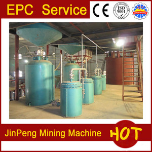 Low cost desorption electrolysis system/gold mineral separator processing  plant in Sudan