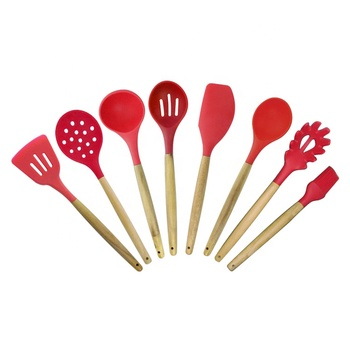 ZY-A5015    silicone kitchen utensil set of 7piece