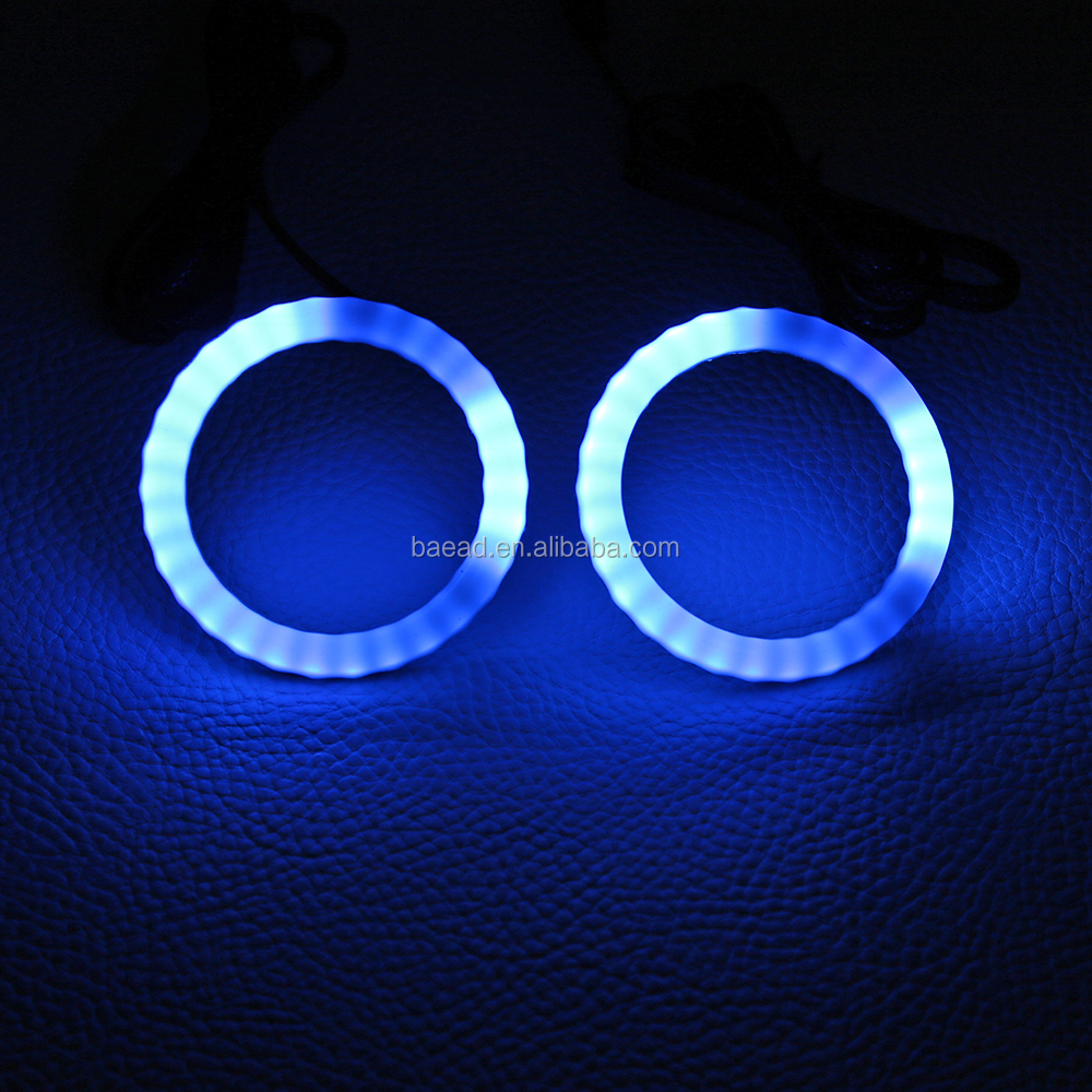 Led Car Angel Eyes Wholesale Suppliers Alibaba Neon Ring Ccfl Eye Shadow Double