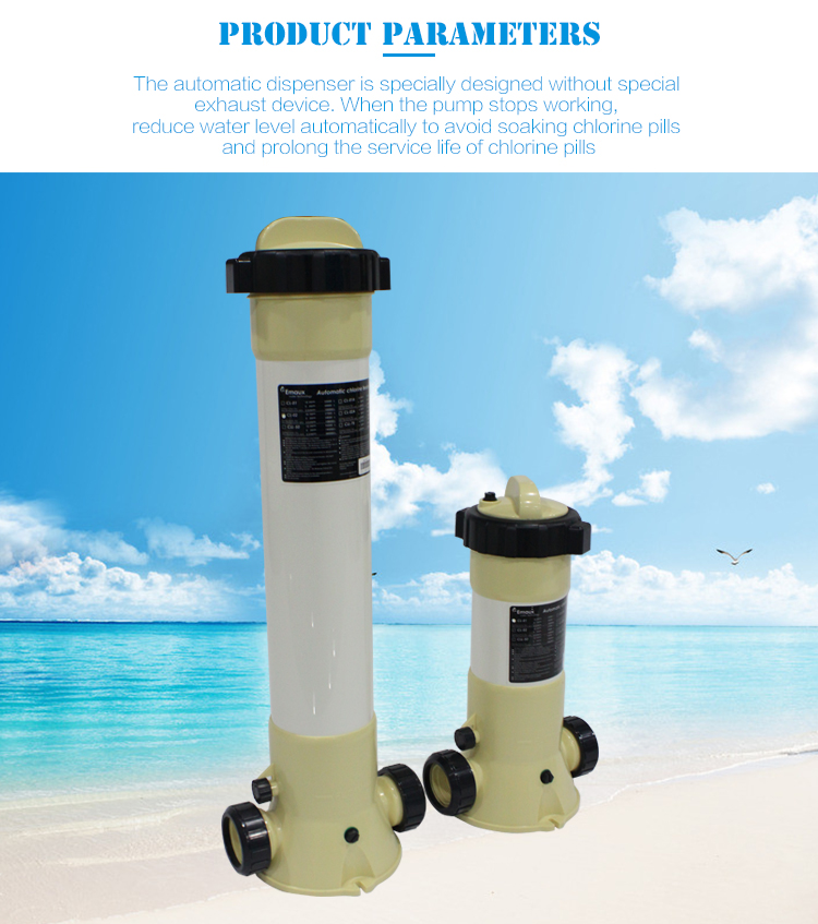 Capacity 10kg Swimming Pool Automatic Chlorine Feeder