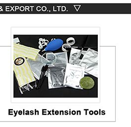 Custom Logo Valse Volume Wimper Extension Pincet Valse Lash Applicator