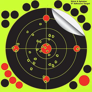 Silhouette Splatter Targets Bull's-eye Targets For Longer Range Shooting   Shot Target Shooting Splatter - Buy Shooting Targets,Air Gun  Pellets,Archery