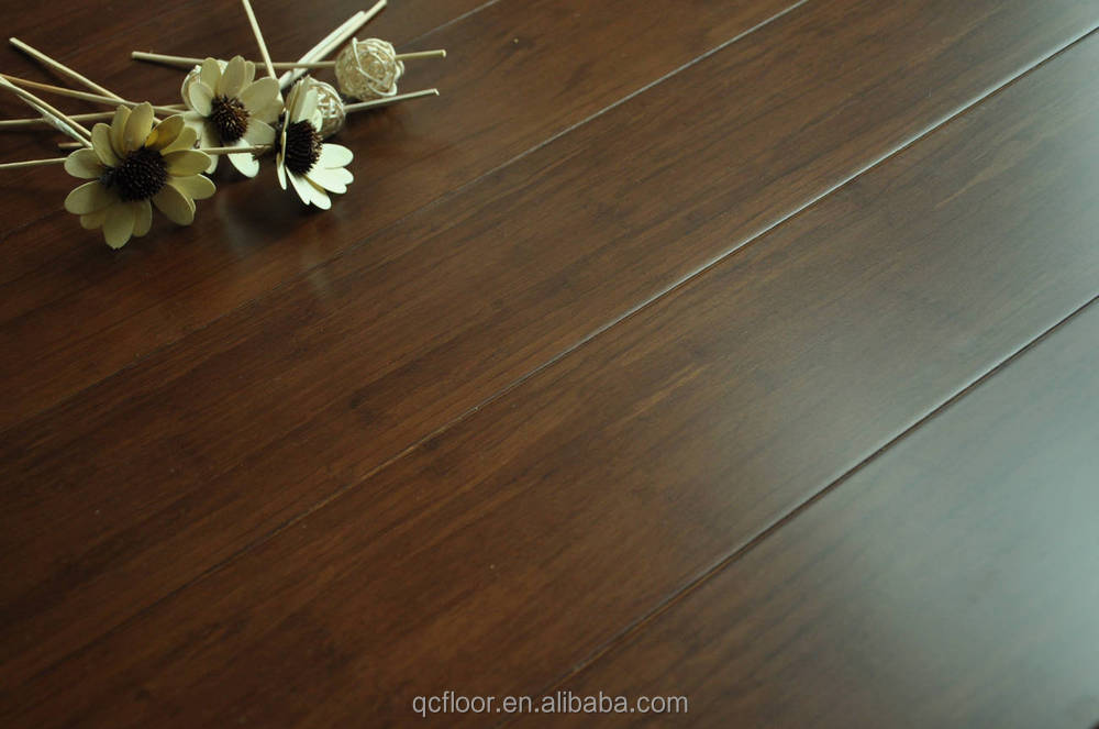 Guangzhou bambus flooring stained walnut color buy bambus
