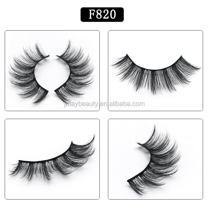 False eyelashes 5 pairs 3D False Eye lashes Natural Long Handmade Makeup Eye Lash