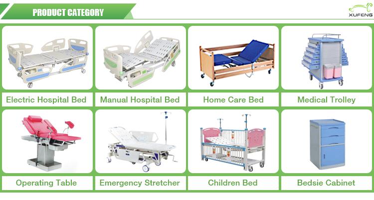 XF022 Collaps foldable एल्यूमीनियम अस्पताल के बिस्तर ओर रेल/गार्ड रेल/एबीएस अस्पताल के बिस्तर साइड रेल