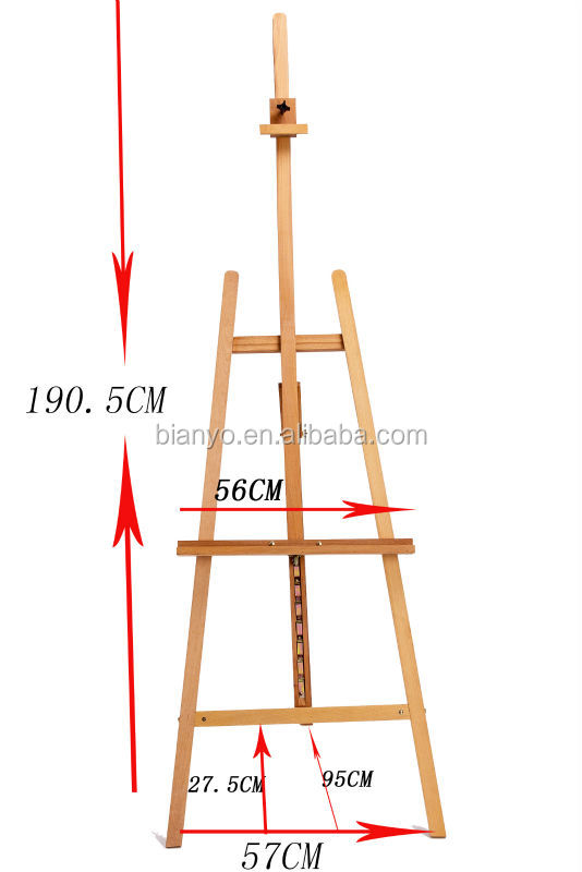 Painting Board Stand Wood Paint Easels Wooden Sketch Easel Yiwu ...