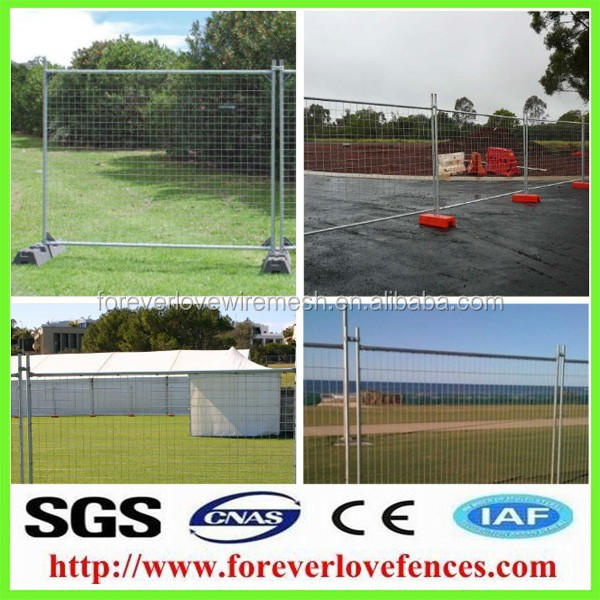 Free Standing temporary wire mesh fence/cheap fence panels