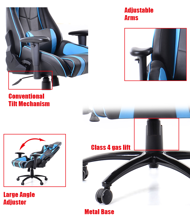 Wholesale Price Race Car Seats For Gaming/gaming Chair Zero Gravity/car  Gaming Racing