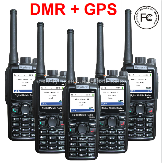 Kydera Dm-880 Cheap Price 5w Vhf Uhf Fcc Approved Radio
