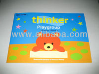 Montessori preschool activity book for aged 4 years old