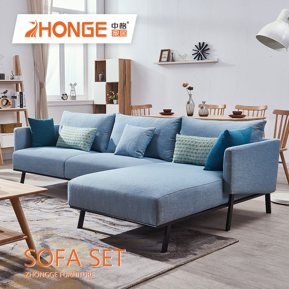 Personality Simple Design 3 Seater Sectional Fabric Living Room Modern  Wooden L Shaped Sofa Set Designs - Buy 3 Seater Fabric Sofa,Modern Wooden L  ...